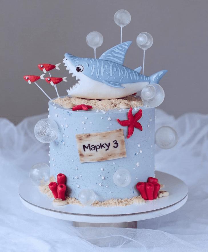 Delightful Shark Cake