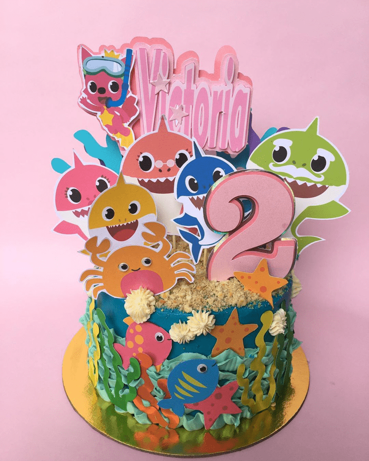 Divine Shark Cake