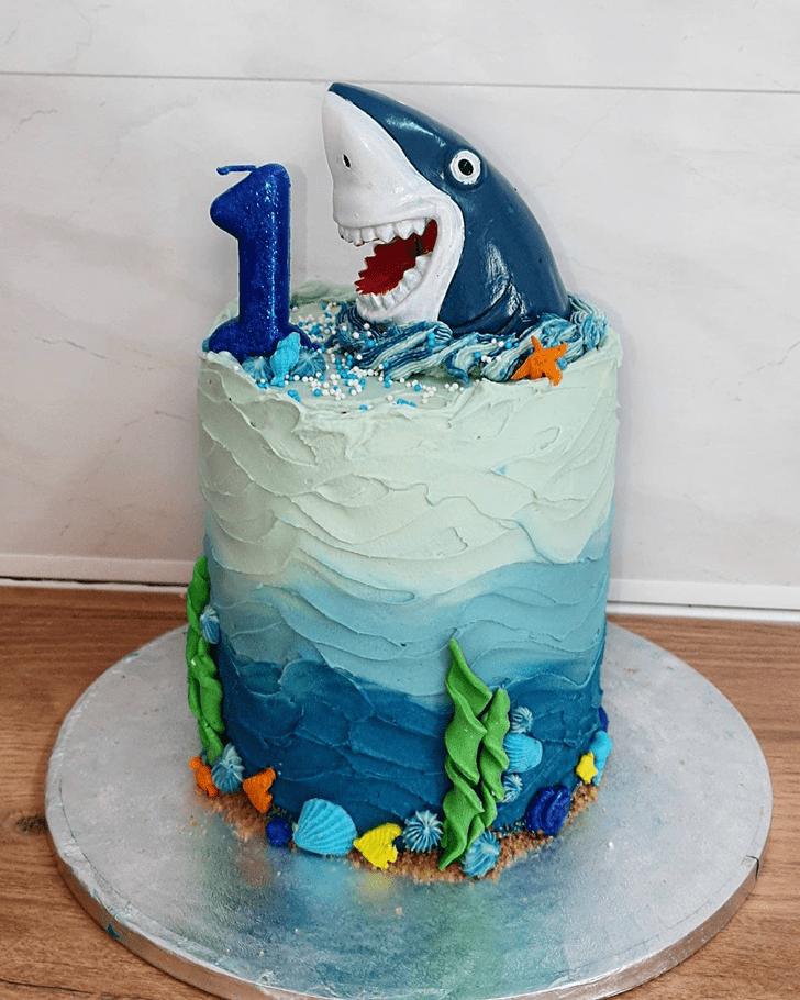Enthralling Shark Cake