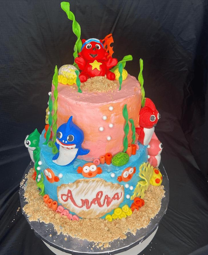Exquisite Shark Cake