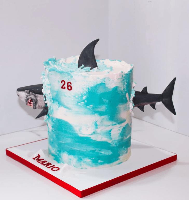 Fascinating Shark Cake