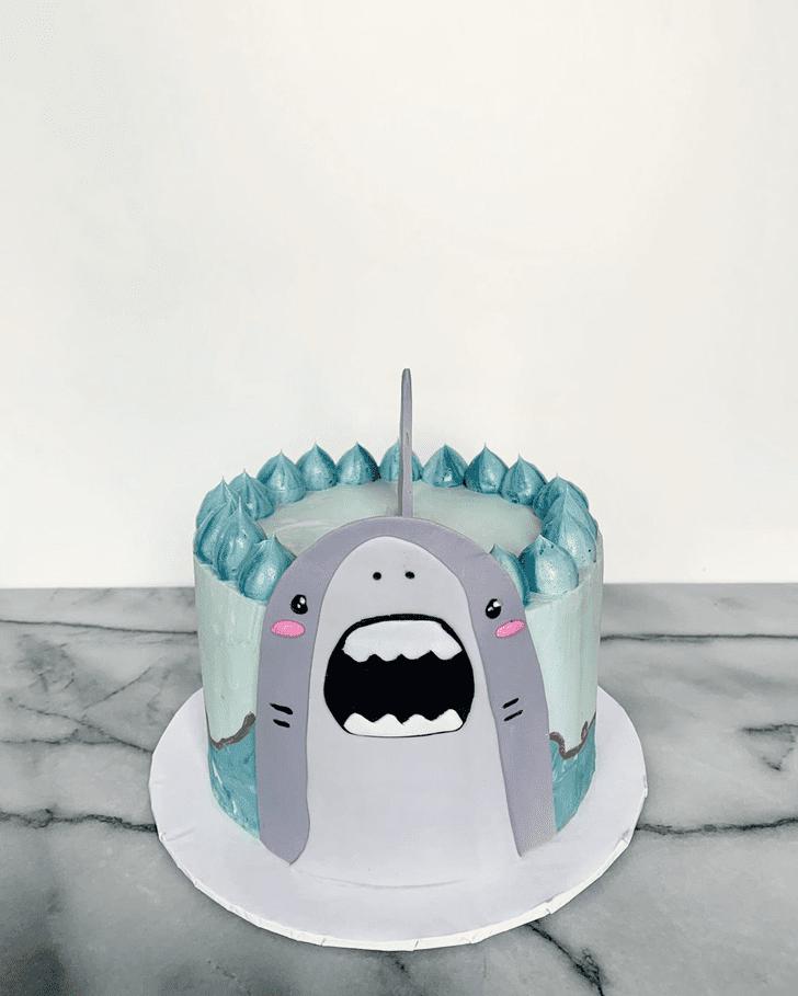 Inviting Shark Cake