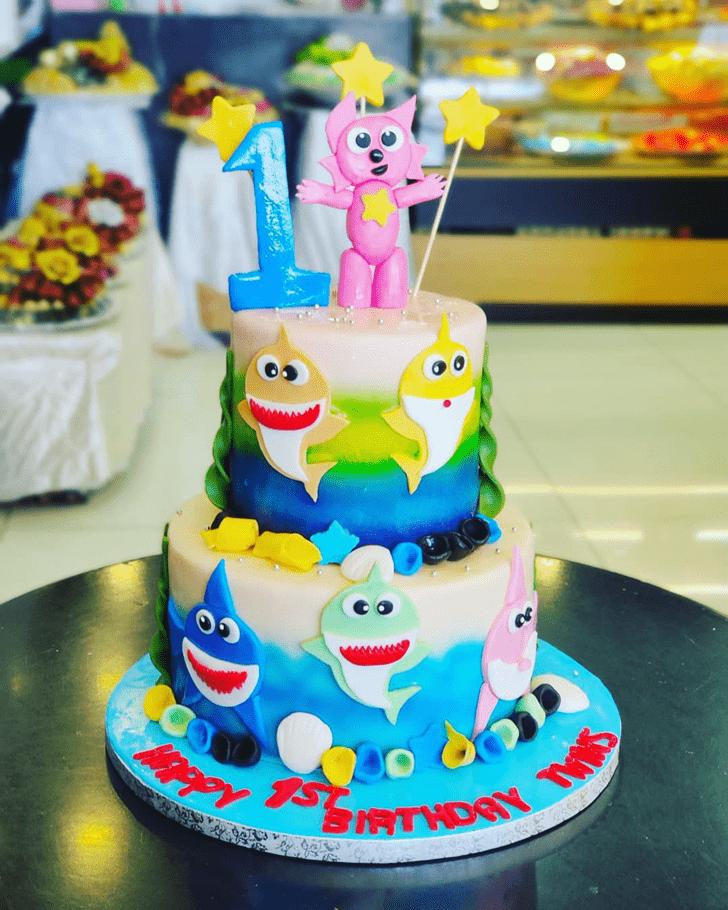 Marvelous Shark Cake