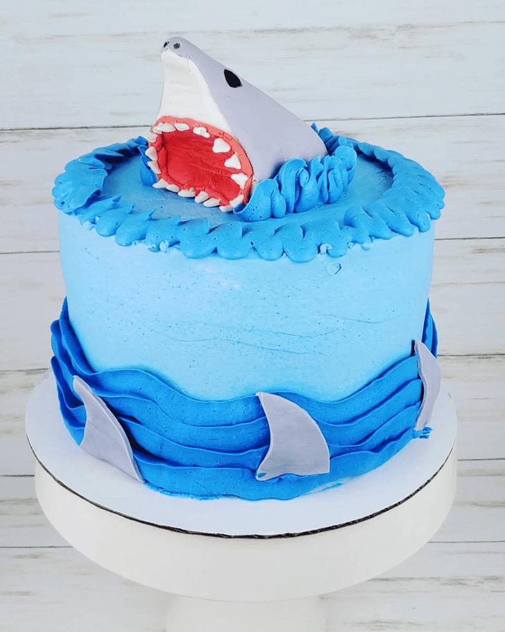 Ravishing Shark Cake