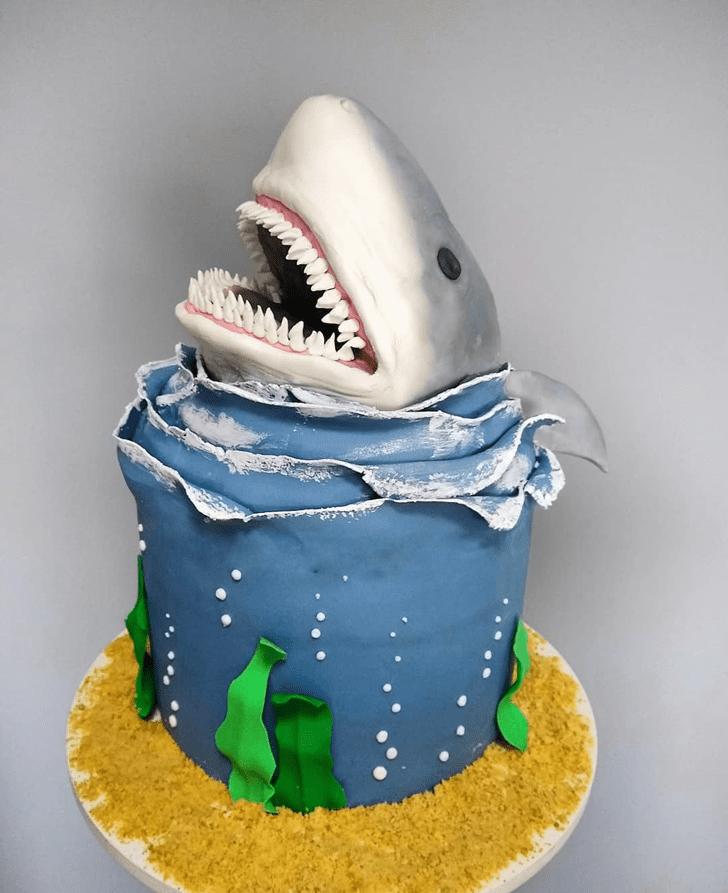 Resplendent Shark Cake