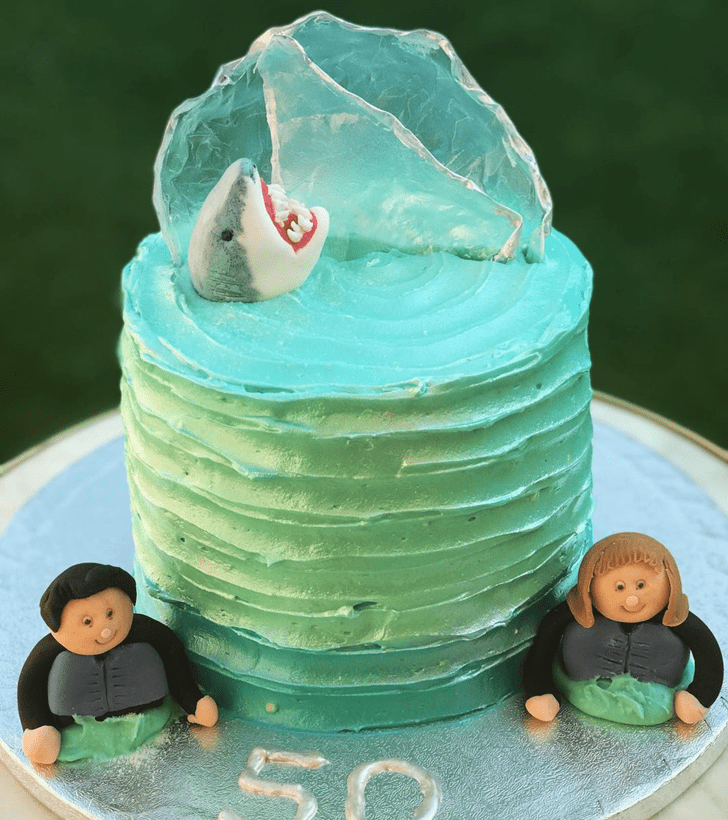 Shapely Shark Cake