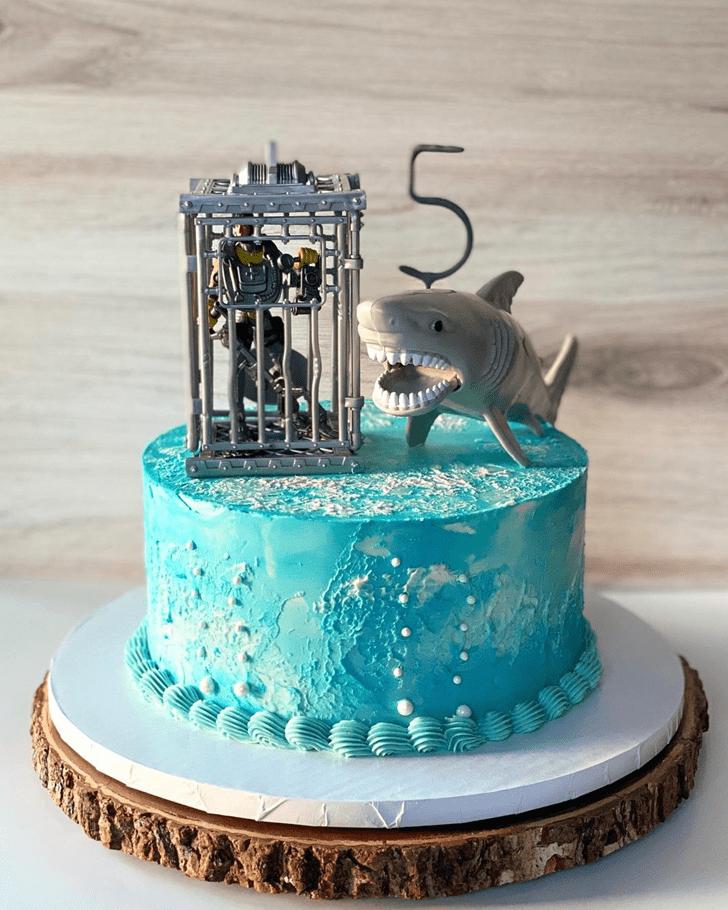 Slightly Shark Cake
