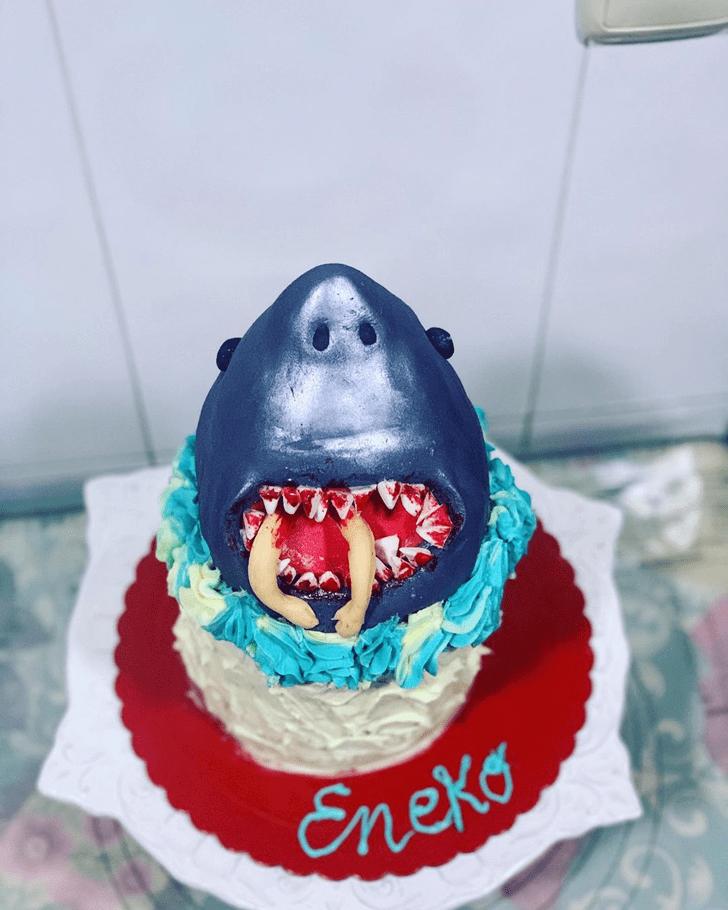 Stunning Shark Cake