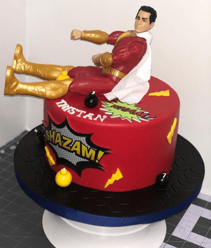 Appealing Shazam Cake
