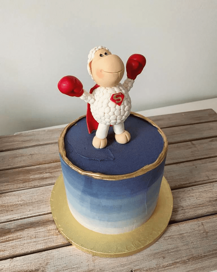 Admirable Sheep Cake Design