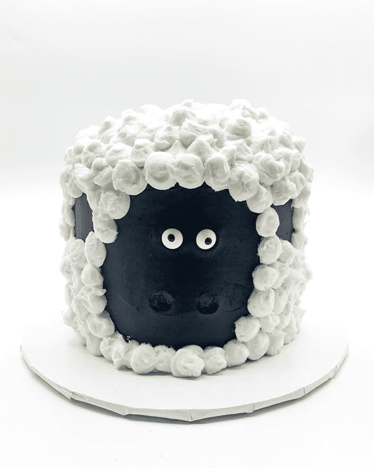 Angelic Sheep Cake