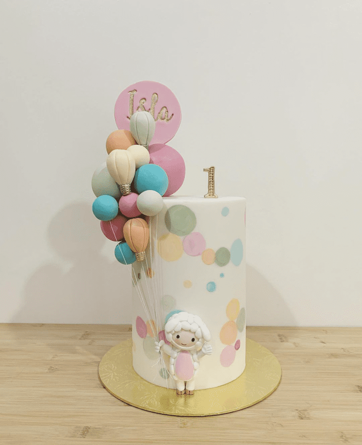 Beauteous Sheep Cake