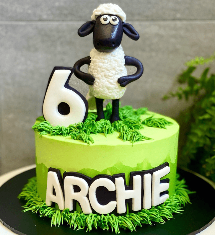 Bewitching Sheep Cake