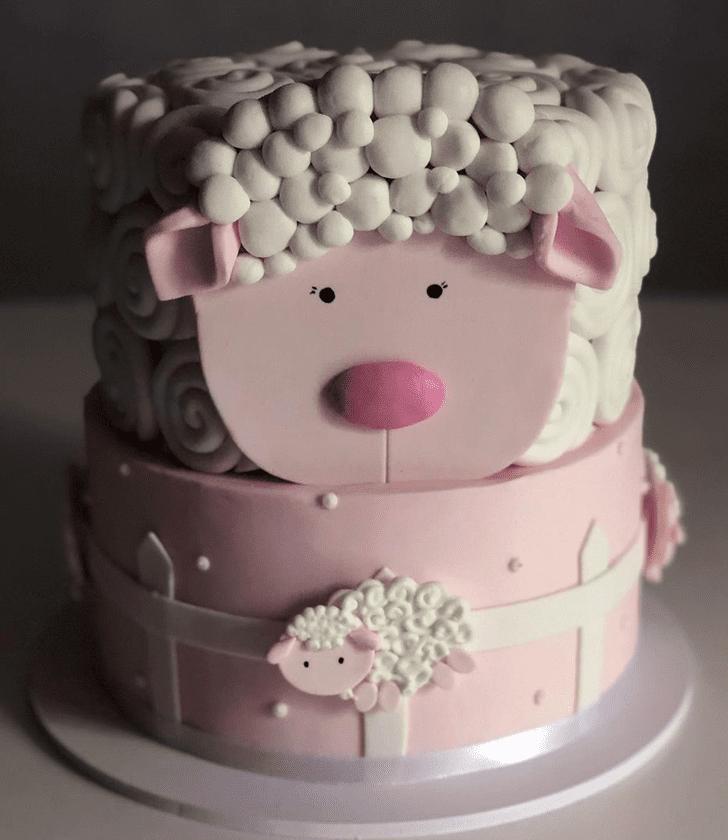 Classy Sheep Cake