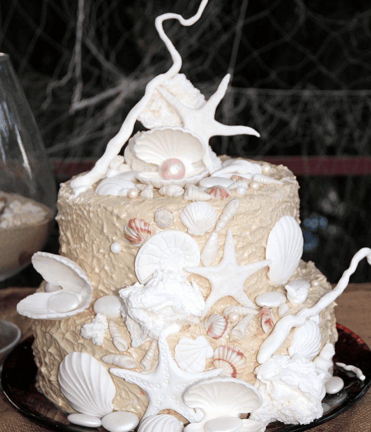 Adorable Shells Cake