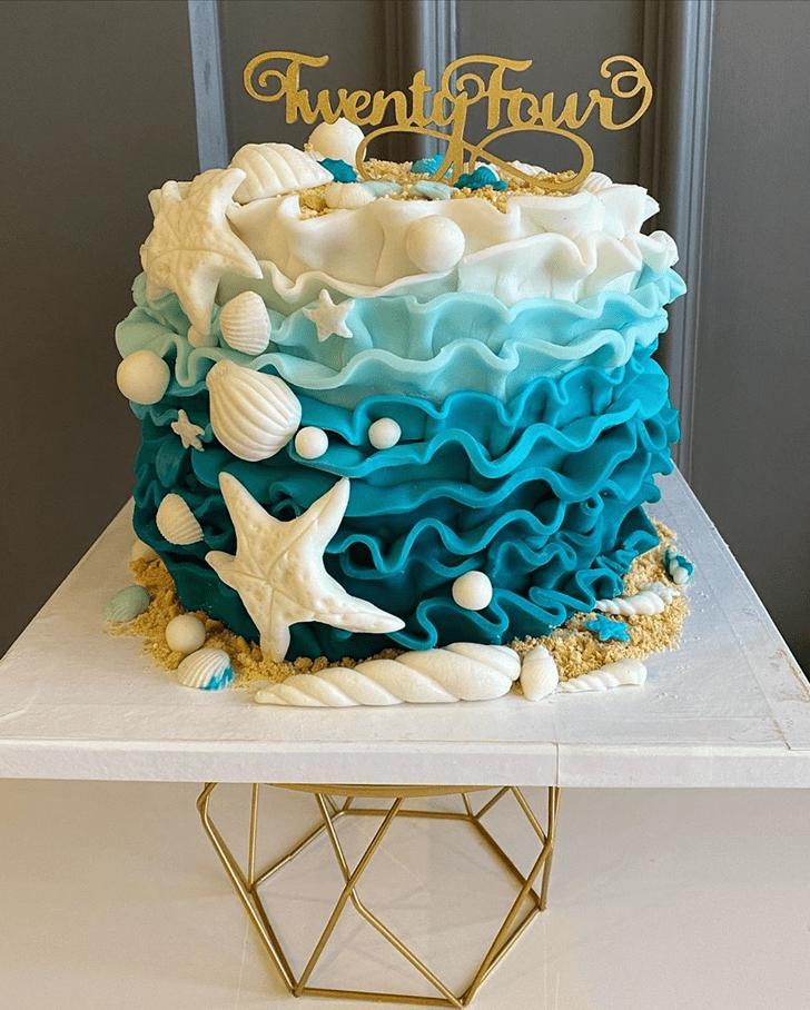 Alluring Shells Cake