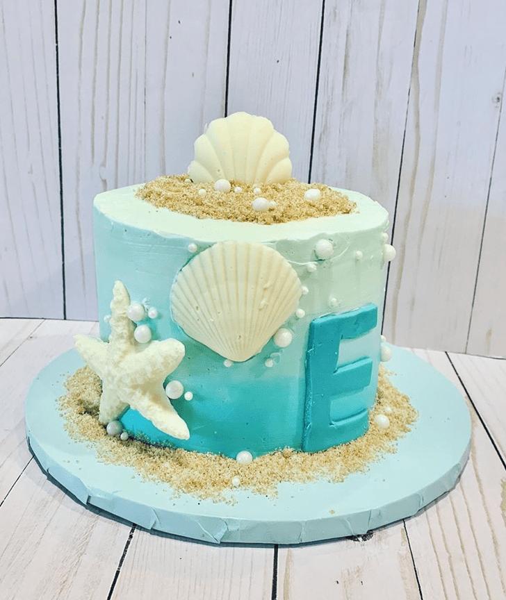 Appealing Shells Cake