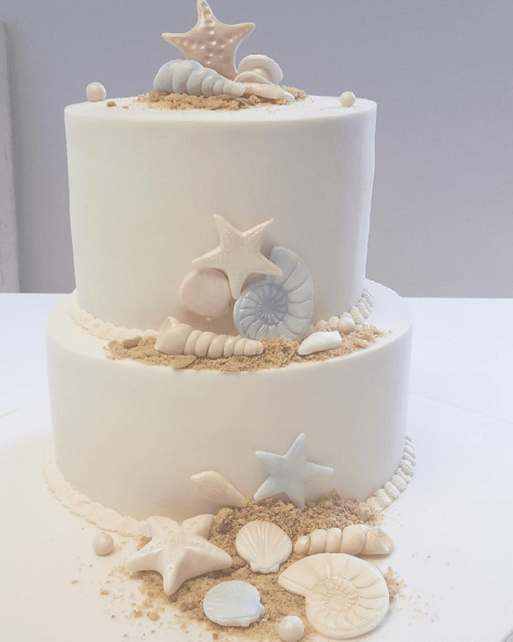 Captivating Shells Cake