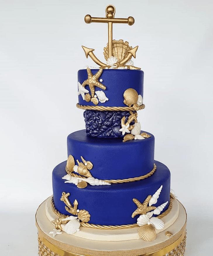 Charming Shells Cake