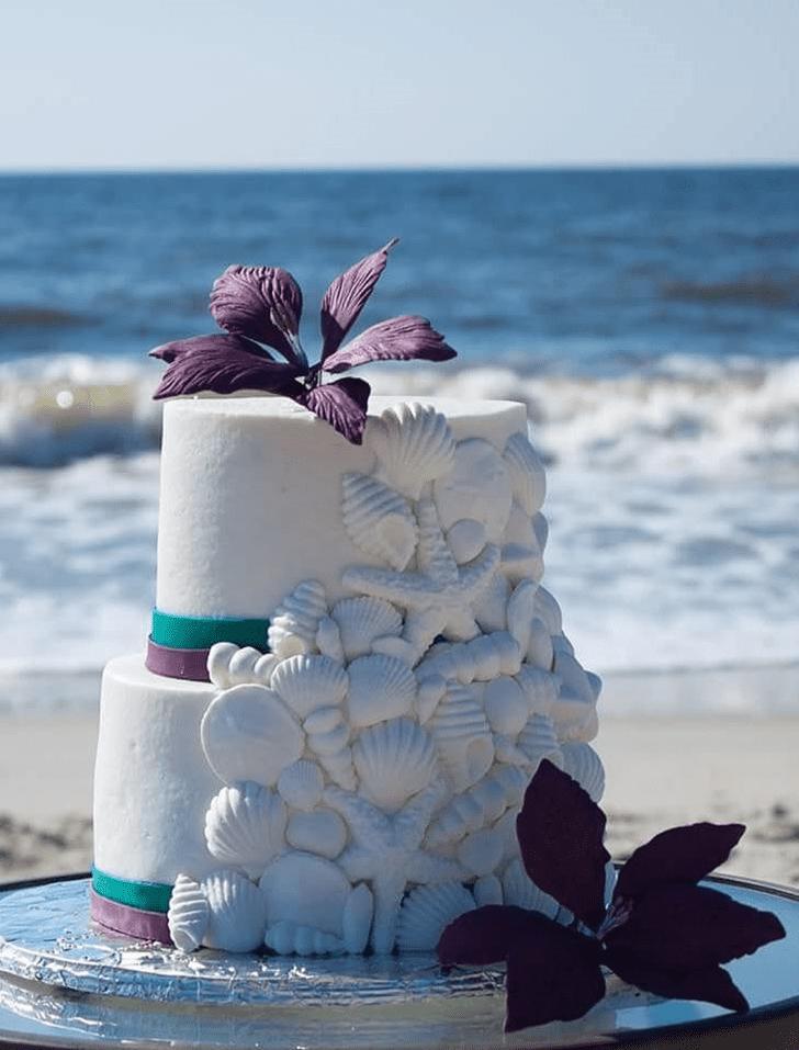 Fine Shells Cake