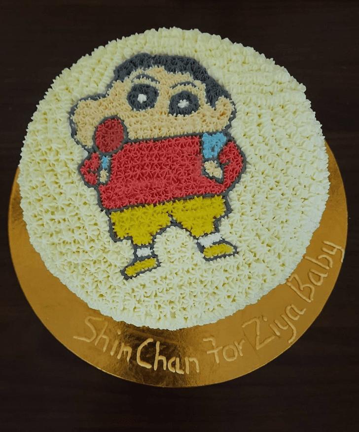 Bewitching Shinchan Cake