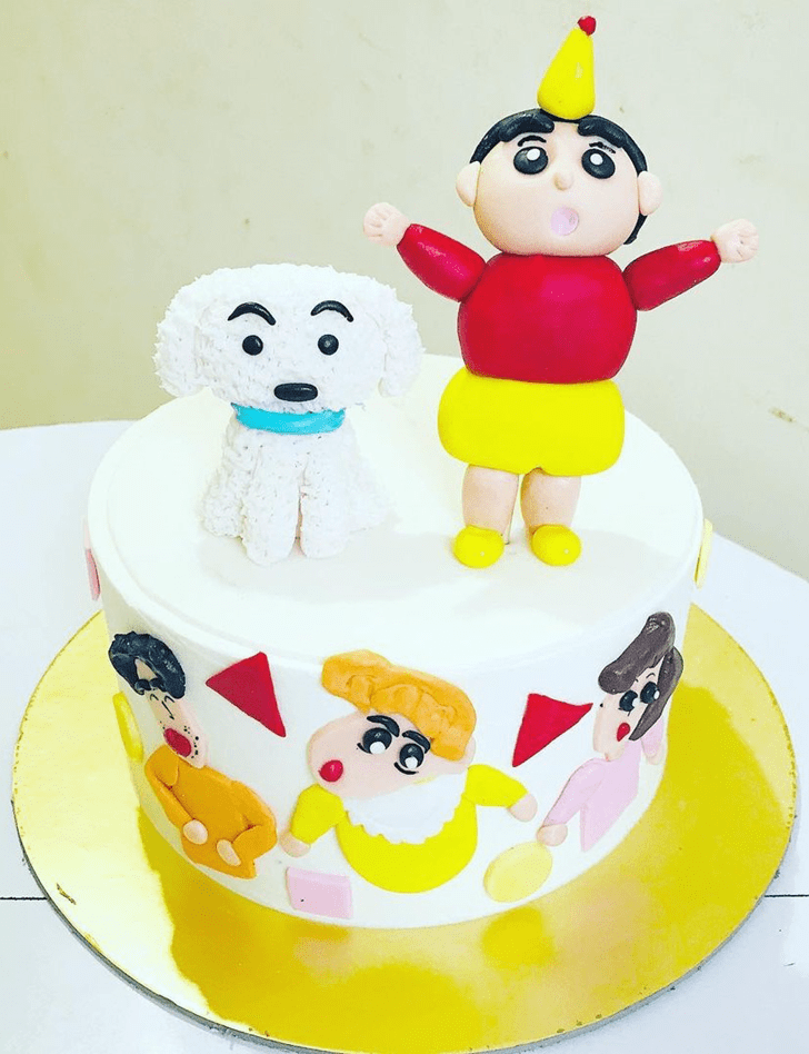 Captivating Shinchan Cake