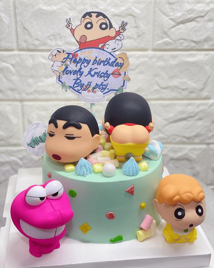 Charming Shinchan Cake
