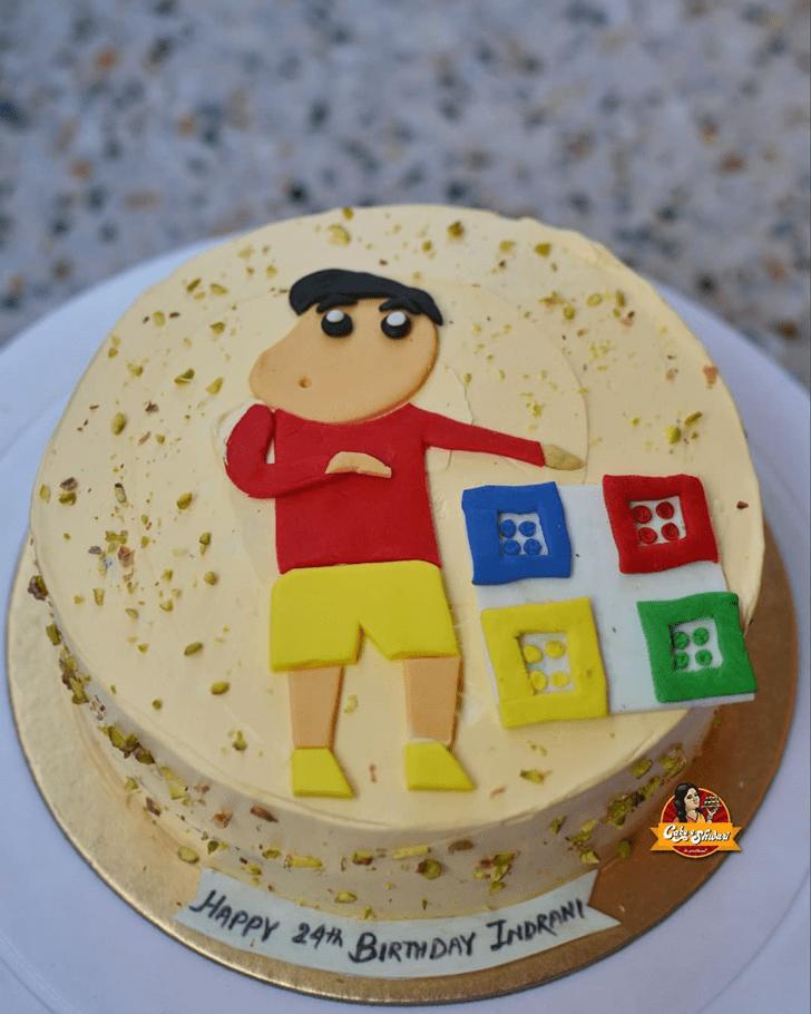Classy Shinchan Cake