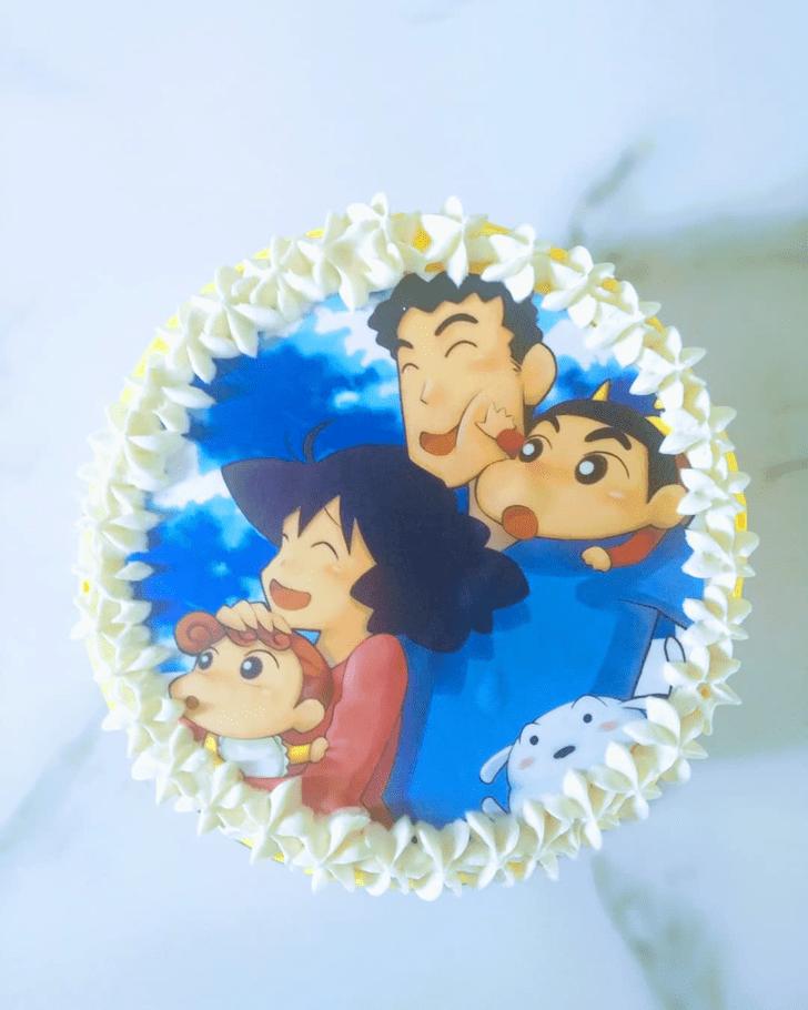 Comely Shinchan Cake