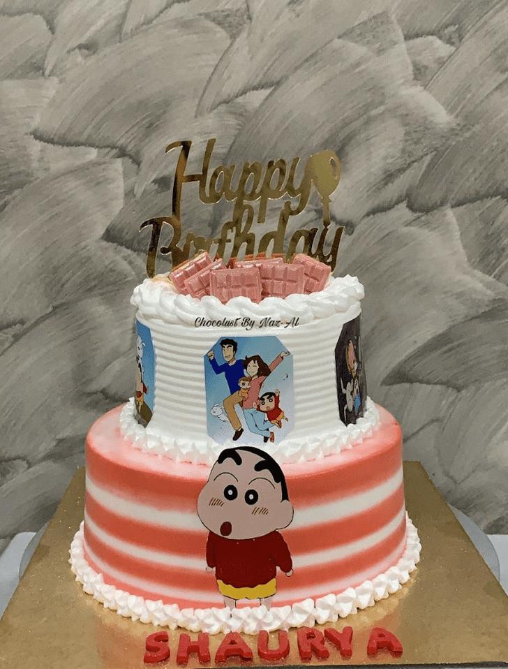 Delicate Shinchan Cake
