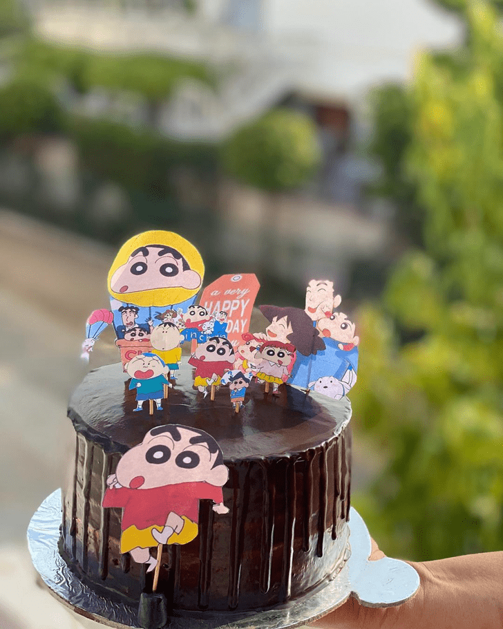 Elegant Shinchan Cake