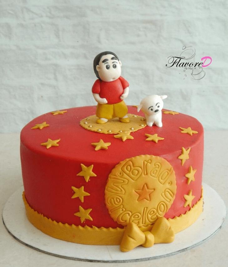 Exquisite Shinchan Cake