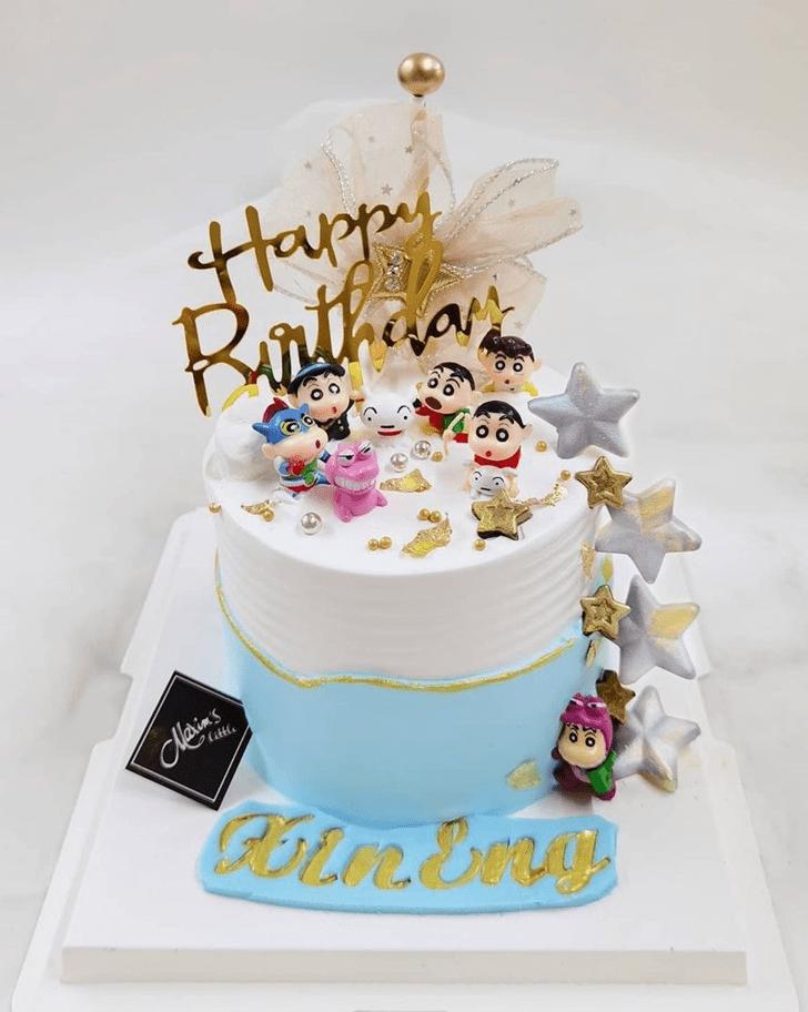 Good Looking Shinchan Cake