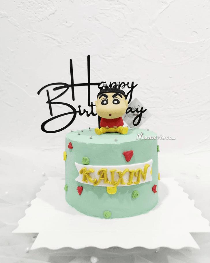 Gorgeous Shinchan Cake