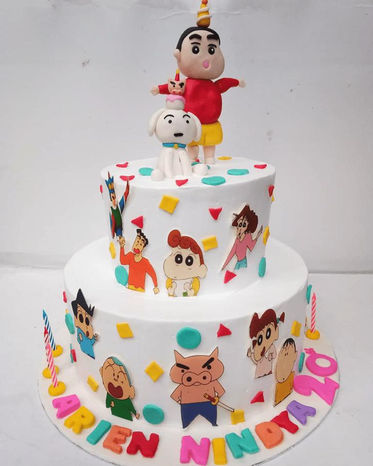 Ideal Shinchan Cake