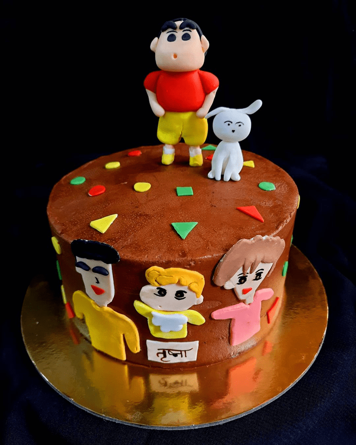 Inviting Shinchan Cake