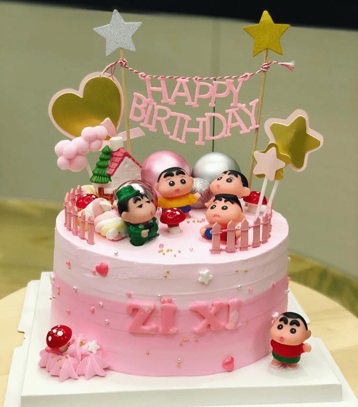 Magnetic Shinchan Cake