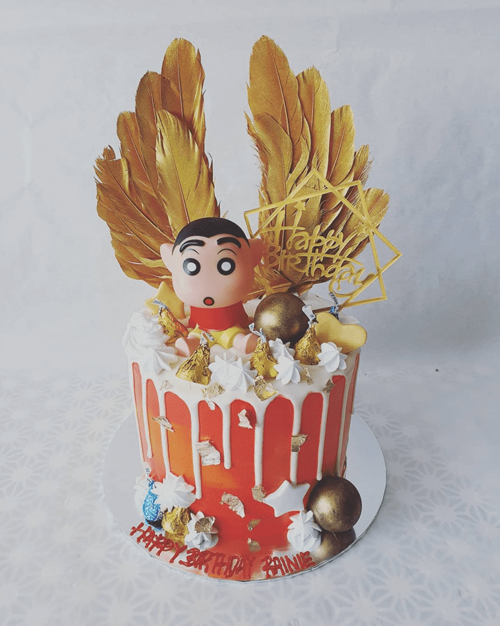 Nice Shinchan Cake