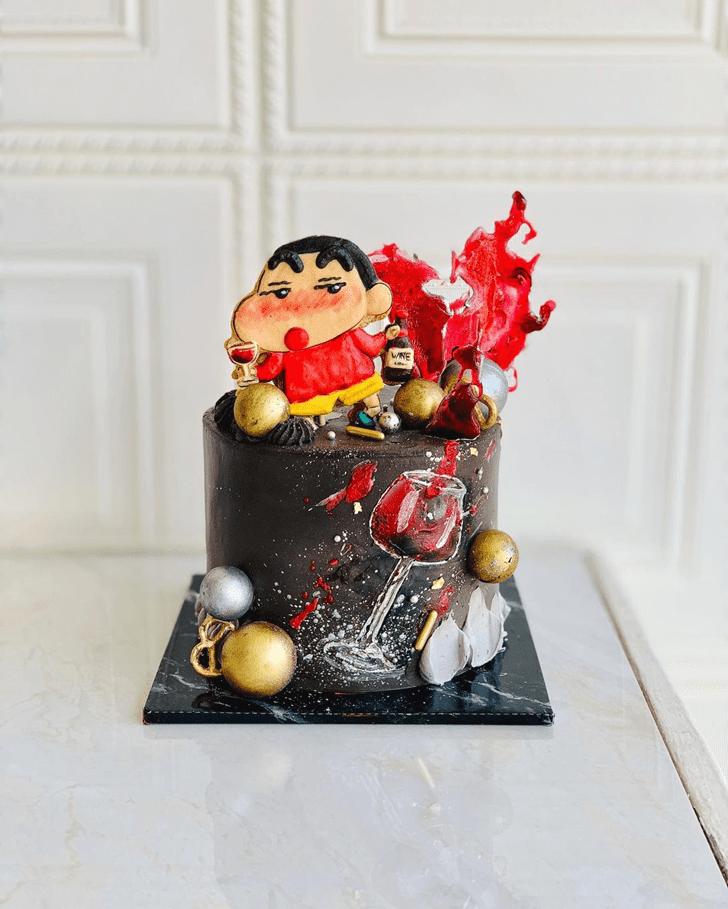 Pleasing Shinchan Cake