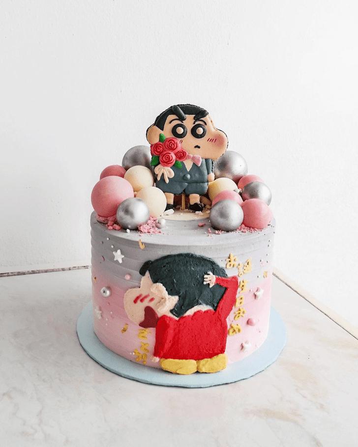 Radiant Shinchan Cake