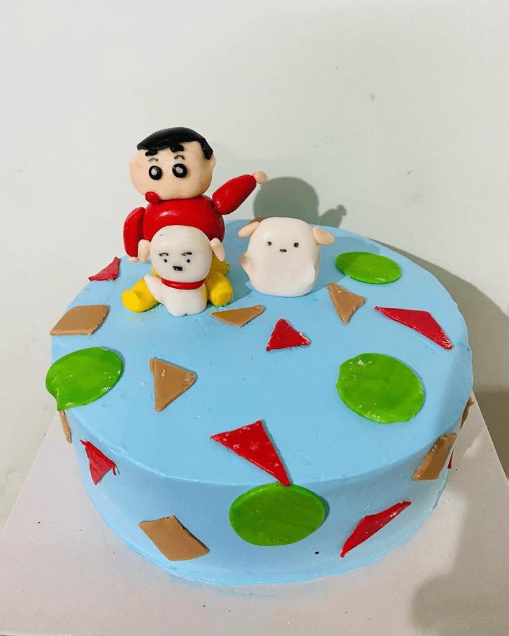 Refined Shinchan Cake