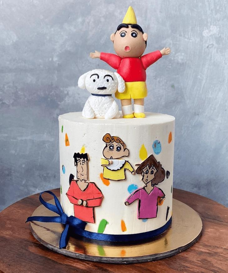Shapely Shinchan Cake