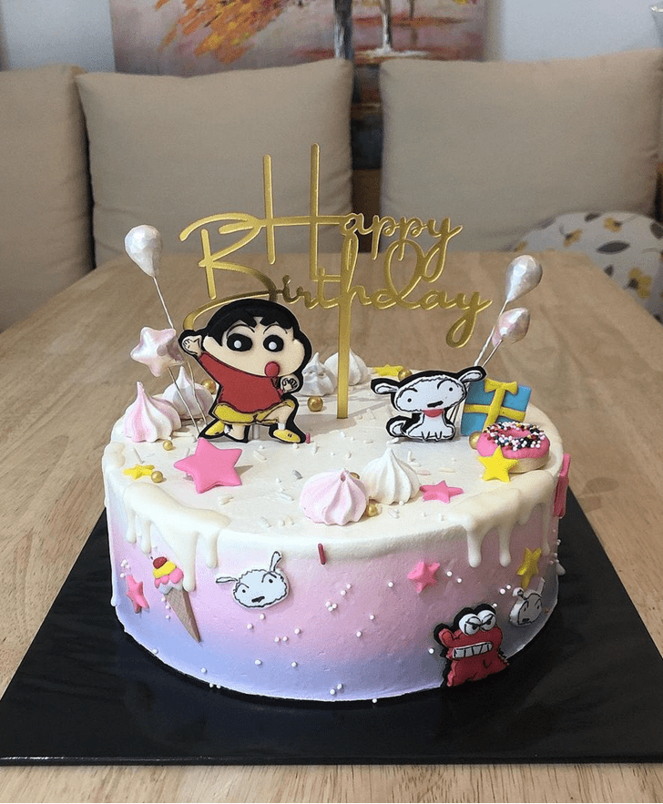 Splendid Shinchan Cake