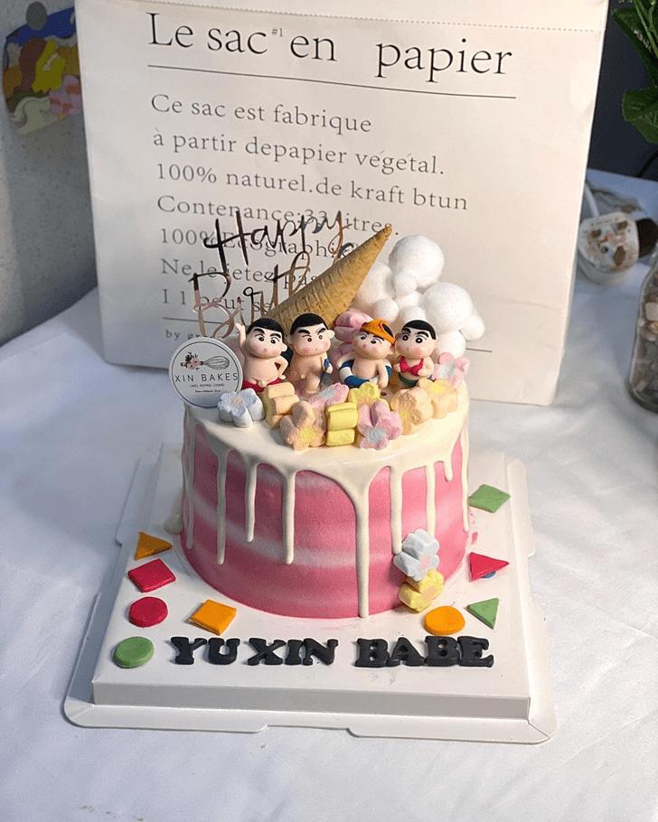 Wonderful Shinchan Cake Design