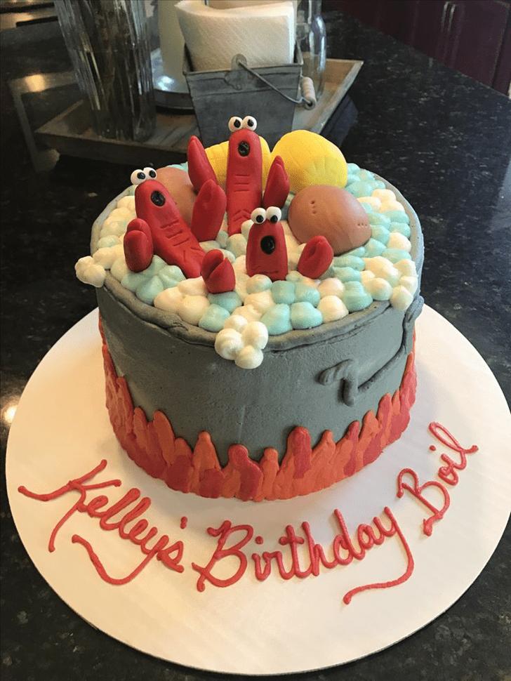 Admirable Shrimp Cake Design
