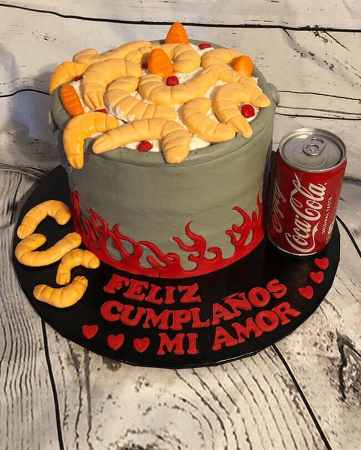 Alluring Shrimp Cake