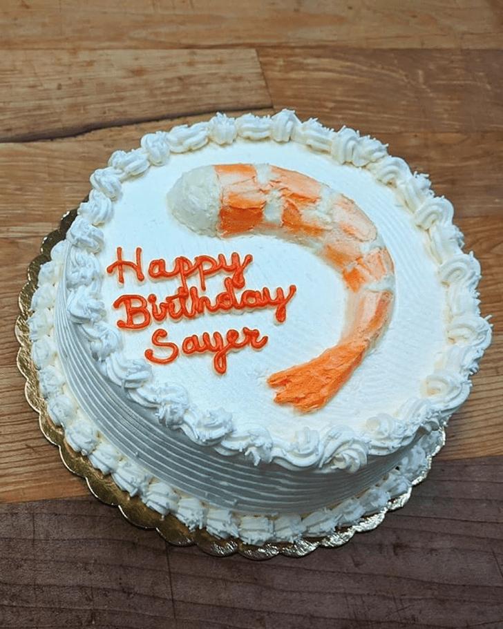 Angelic Shrimp Cake