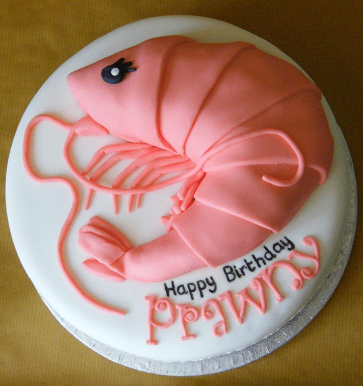 Beauteous Shrimp Cake
