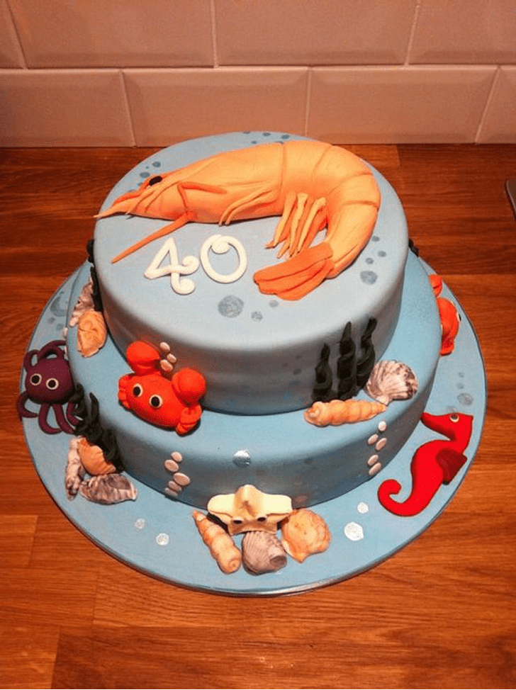 Captivating Shrimp Cake