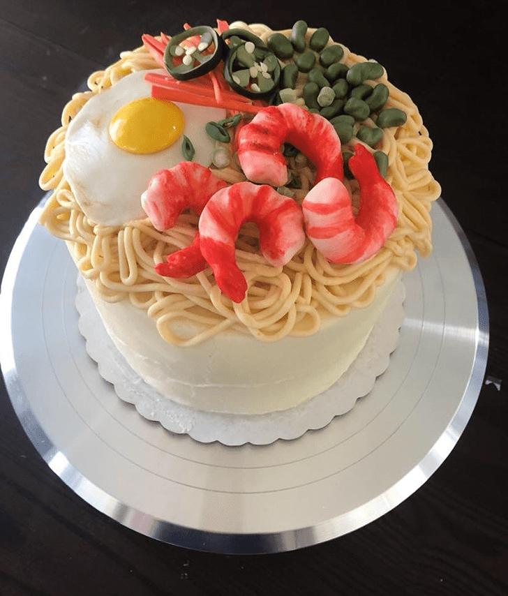 Classy Shrimp Cake